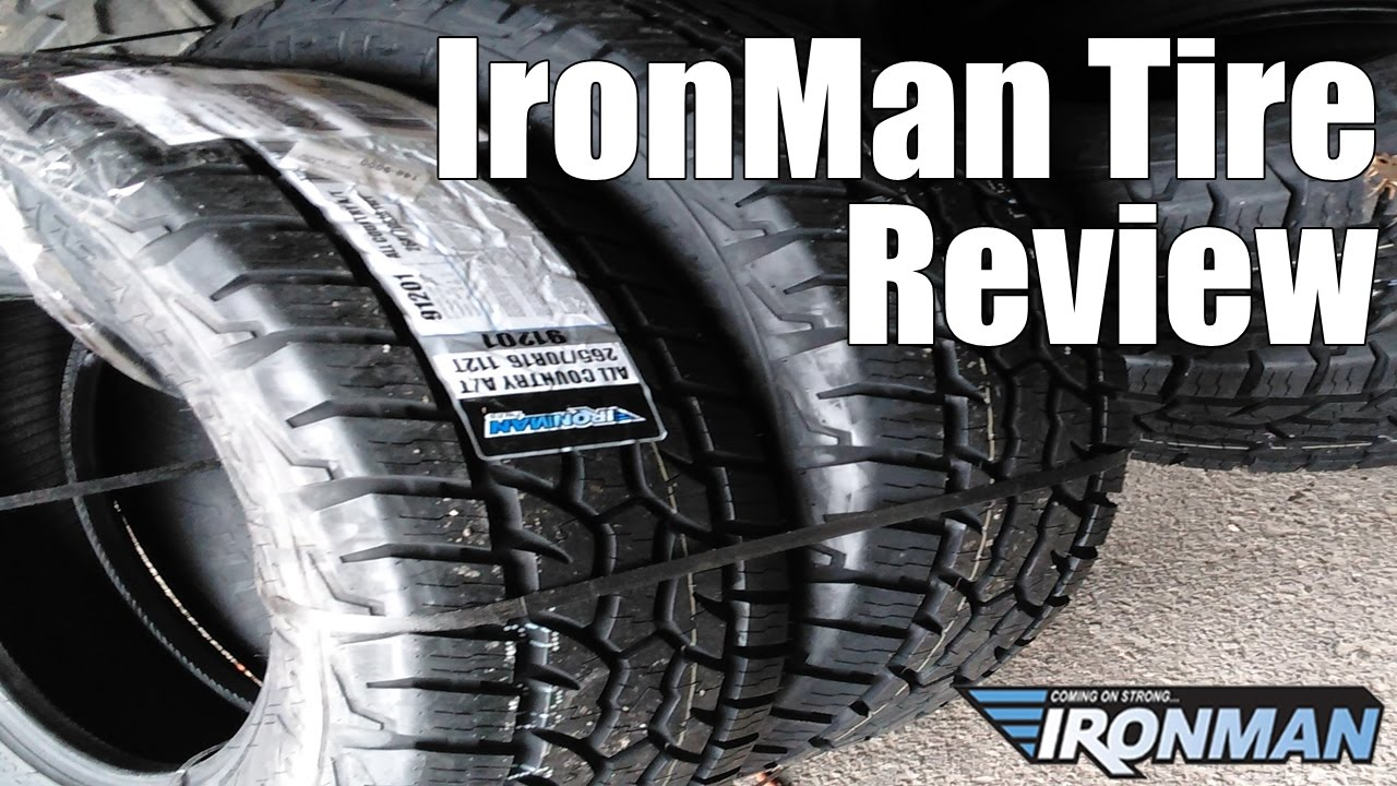 Ironman Tire Review Great Cheap Tire Youtube