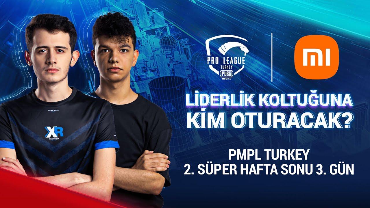 [TR] 2021 PMPL Turkey SHS2G3   Sezon 2   Xiaomi   PUBG MOBILE Pro League 2021