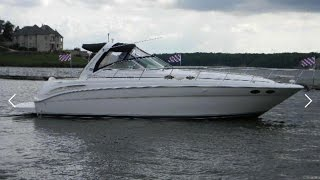 A Rockin' Sporty 2006 Sea Ray 380 Sundancer Sport Yacht For Sale at MarineMax Lake Ozark