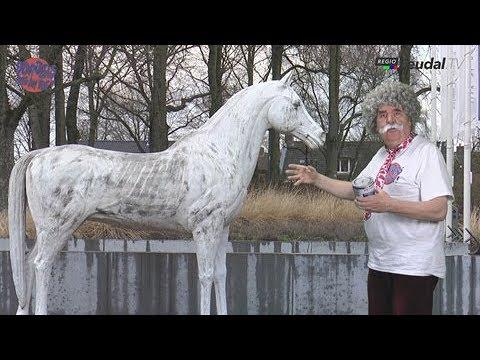 Sjaak Donders over het paard in Heythuysen