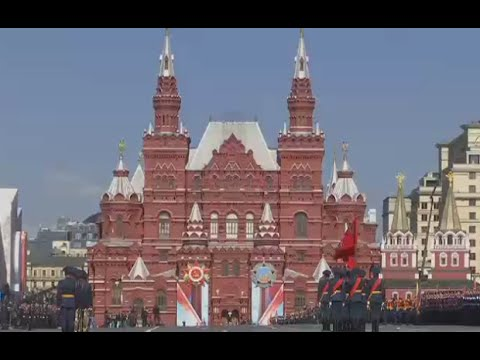 360: Moscow V-Day Parade final rehearsal panorama video (Streamed LIVE 07.05.2016)