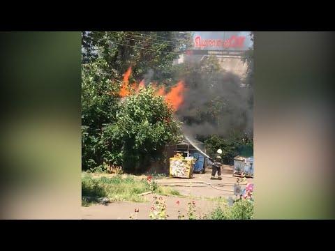 Житомир.info   Новости Житомира: У Житомирі навпроти торгового центру «ЯрмарОК» сталася пожежа - Житомир.info
