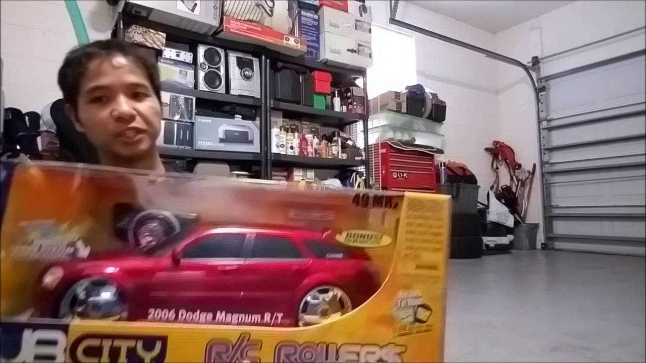 2016 Dodge Magnum >> RC 1/10 Dodge Magnum R/T from Jada Toys - YouTube