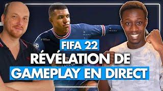 FIFA 22 : Découvrez le NOUVEAU GAMEPLAY OFFICIEL en DIRECT ! ⚽ EA Play Spotlight