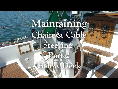 Chain & Cable Steering maintenance Part 2