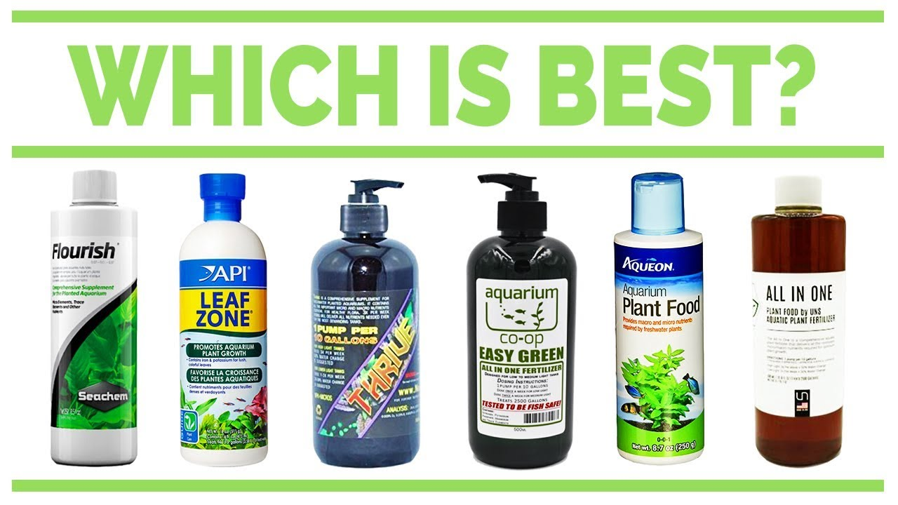 Best Liquid Fertilizer For Aquarium Plants | Aquascape Addiction