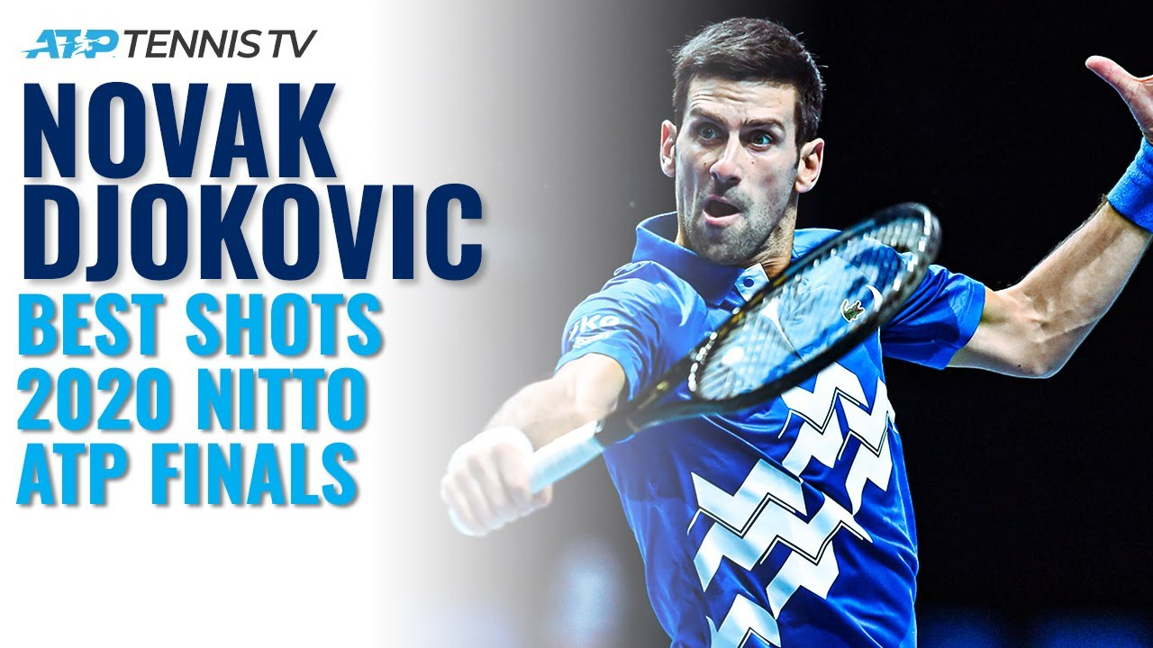 Novak Djokovic 2020 Nitto ATP Finals Highlights