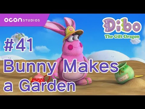 [Dibo the gift dragon] #41 Bunny Makes a Garden(ENG DUB)ㅣOCON
