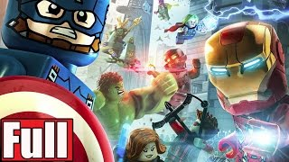 LEGO Marvel's Avengers Age of Ultron Full Game Walkthrough