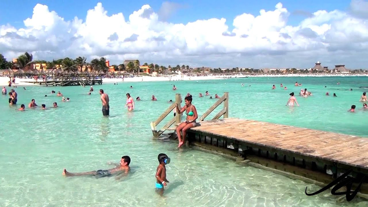 Gran Bahia Principe Akumal Snorkeling And Beach Youtube Youtube