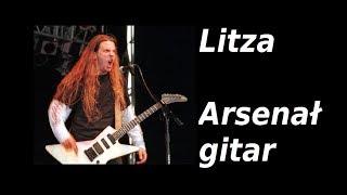 Litza i jego arsenał gitar - Polaków Gitarowe Rozmowy - FILMIKI O GITARACH 615