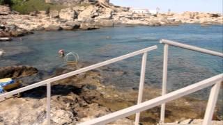 Остров Родос (Греция), Калифея(Пляж Калифеи., 2011-09-16T15:05:30.000Z)
