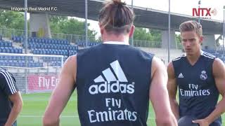 Julen Lopetegui dirigió su primera práctica como técnico de Real Madrid