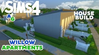 The Sims 4 - House Building - Willow Apartments Part 1