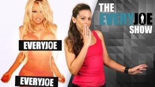 Pamela Anderson Banned TV Commercial (The EveryJoe Show)