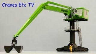 ROS Sennebogen 8130 EQ Equilibrium Material Handler by Cranes Etc TV
