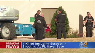 Shooter Dead, Three Others Killed At Naval Air Station Pensacola