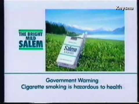 1987 - Salem Lights Cigarette
