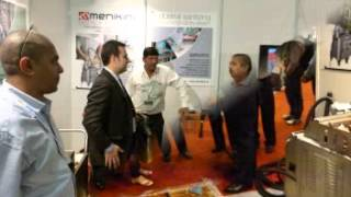 Thoron Turnkey Cleaning Equipment Division at Clean India Show 2012 Bangalore, India