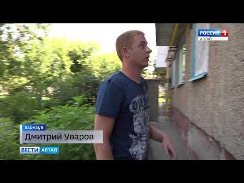 Барнаулец, рискуя жизнью, спас младенца из горящей квартиры