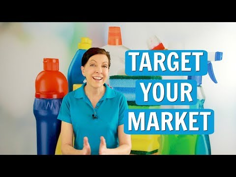 Target Your Market When Starting A Cleaning Business
