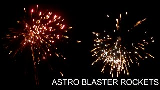 Astro Blaster Rockets - Brothers Pyrotechnics
