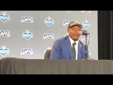 Josh Jacobs Oakland Raiders 2019 NFL Draft Pick Interview