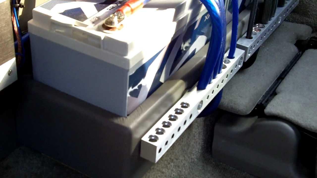 medium resolution of super clean install of 2 incriminator audio 21 subs