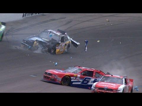Best NASCAR Crashes Of 2016 (Part 1)