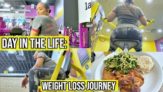DAY IN THE LIFE WEIGHT LOSS JOURNEY / WORKING OUT, WHAT I ATE, & FITNESS MOTIVATION