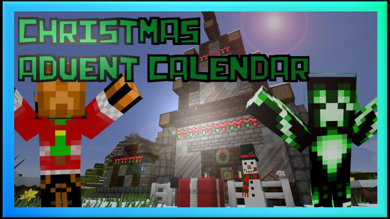 Christmas Calendar Minecraft Download : Minecraft mr k s christmas advent calendar xeno