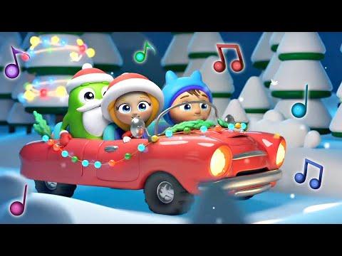 Веселые песенки Сина и Ло - Про Новый год - Песенка мультик
