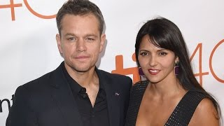 Matt Damon Reveals His Wife and Kids Don't Think He's Cool!