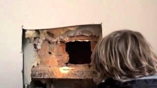 Installatie kachel in Wavrille