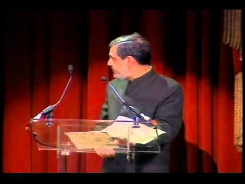 1996 Goldman Environmental Prize Ceremony: MC Mehta