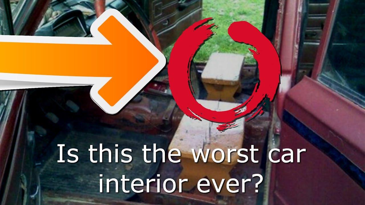 Worst Car Interior Ever Created Mercedes Sl65 Amg Tour