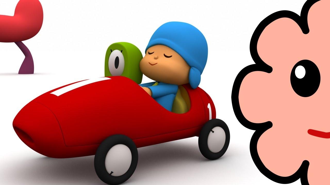 Kiki 64 Jugando Pocoyo Carrera De Autos Carros Youtube