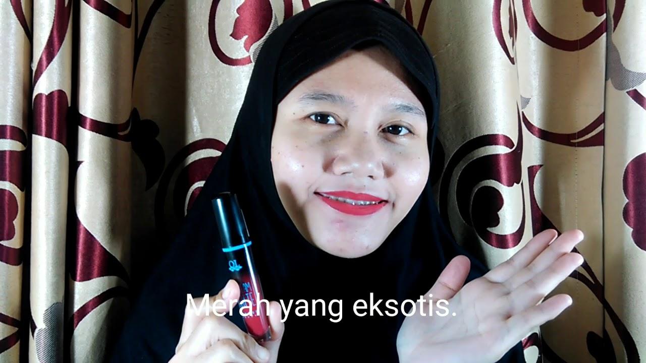 (Review) QL Cosmetic Lip Cream Matte - Hello Fika