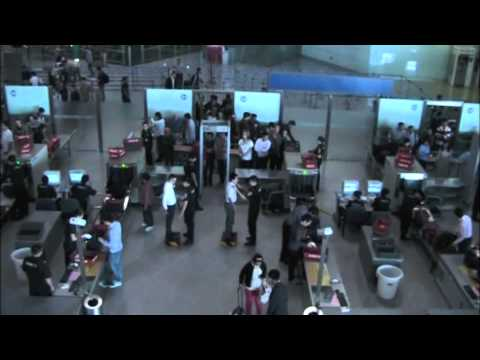 Beijing Capital Airport Domestic Terminal and Air China Lounge