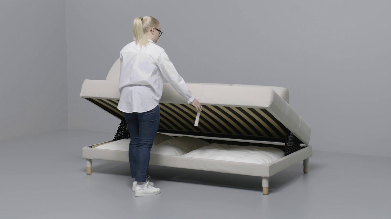 IKEA - FLOTTEBO - Convertible - YouTube