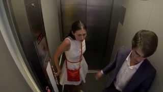 Розыгрыш со скоростным лифтом / Fast Elevator Prank