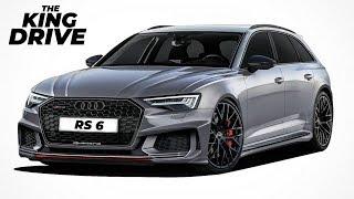В Audi Объявили Когда Покажут Audi Rs6 И Rs7 2019 Нового Поколения