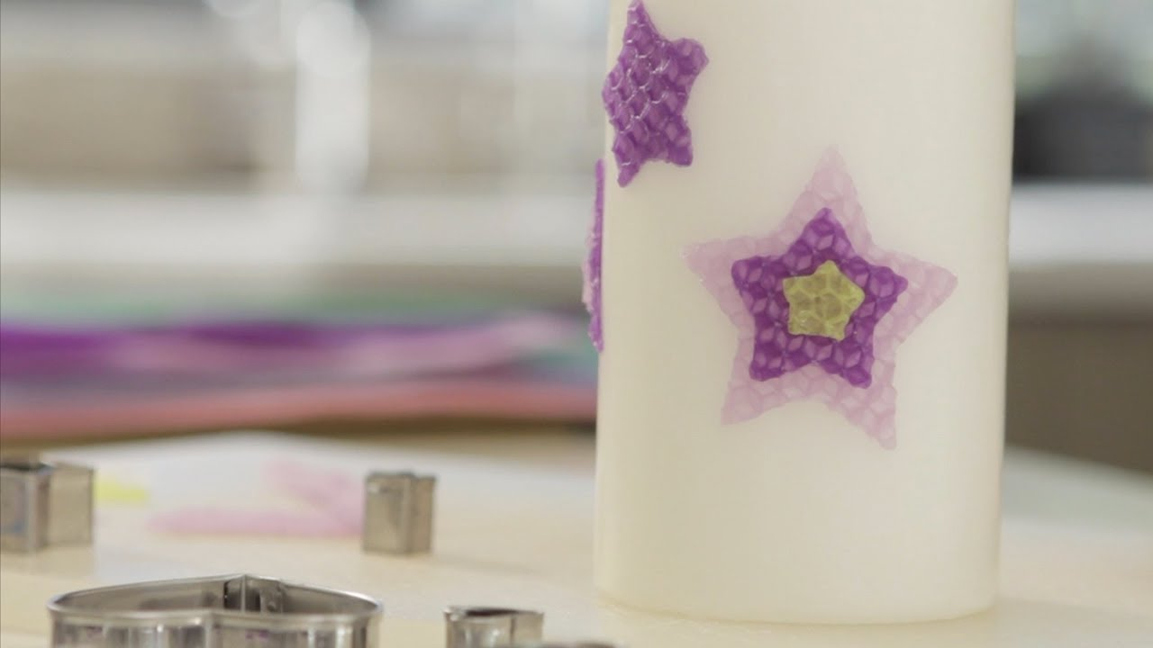 How to Decorate a Candle  Lets Craft with Modernmom