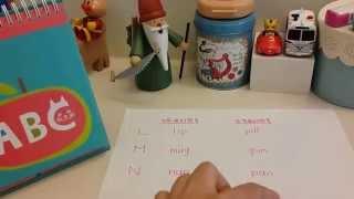繪出英文力 介紹 26個字母的自然發音。