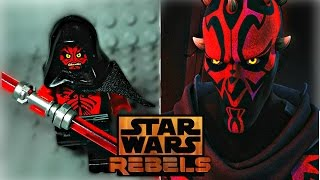 LEGO Star Wars Rebels - Darth Maul Minifigure