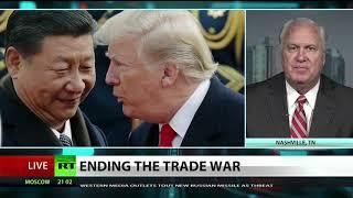 Trade war rivals US & China in talks