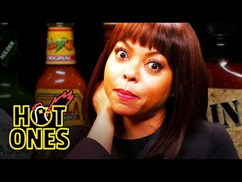 Taraji P. Henson Needs a Stunt Double to Eat Spicy Wings  Hot Ones