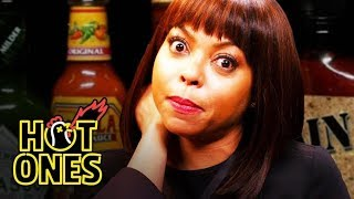 Download Taraji P. Henson Needs a Stunt Double to Eat Spicy Wings | Hot Ones Mp3 and Videos