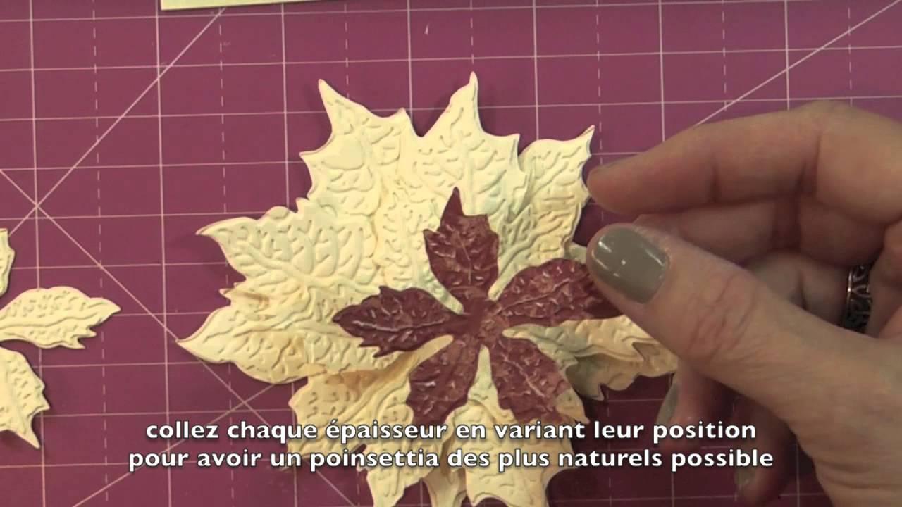 OTF Embossed Poinsettia Cards Doovi
