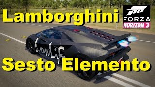 Lamborghini SESTO ELEMENTO in Forza Horizon 3. I will try it out if...